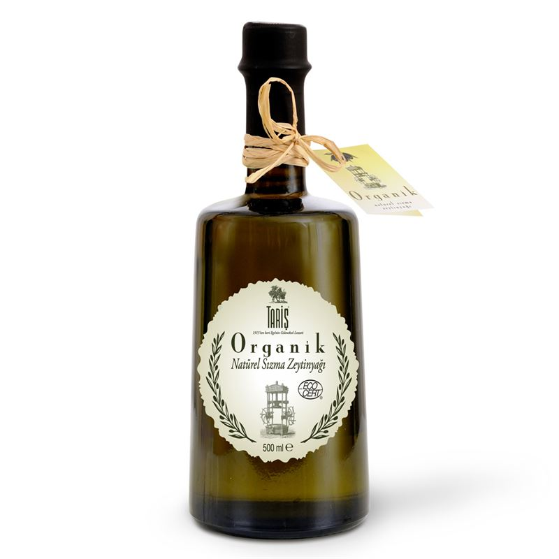 Organic Extra Vİrgin Olive Oil
